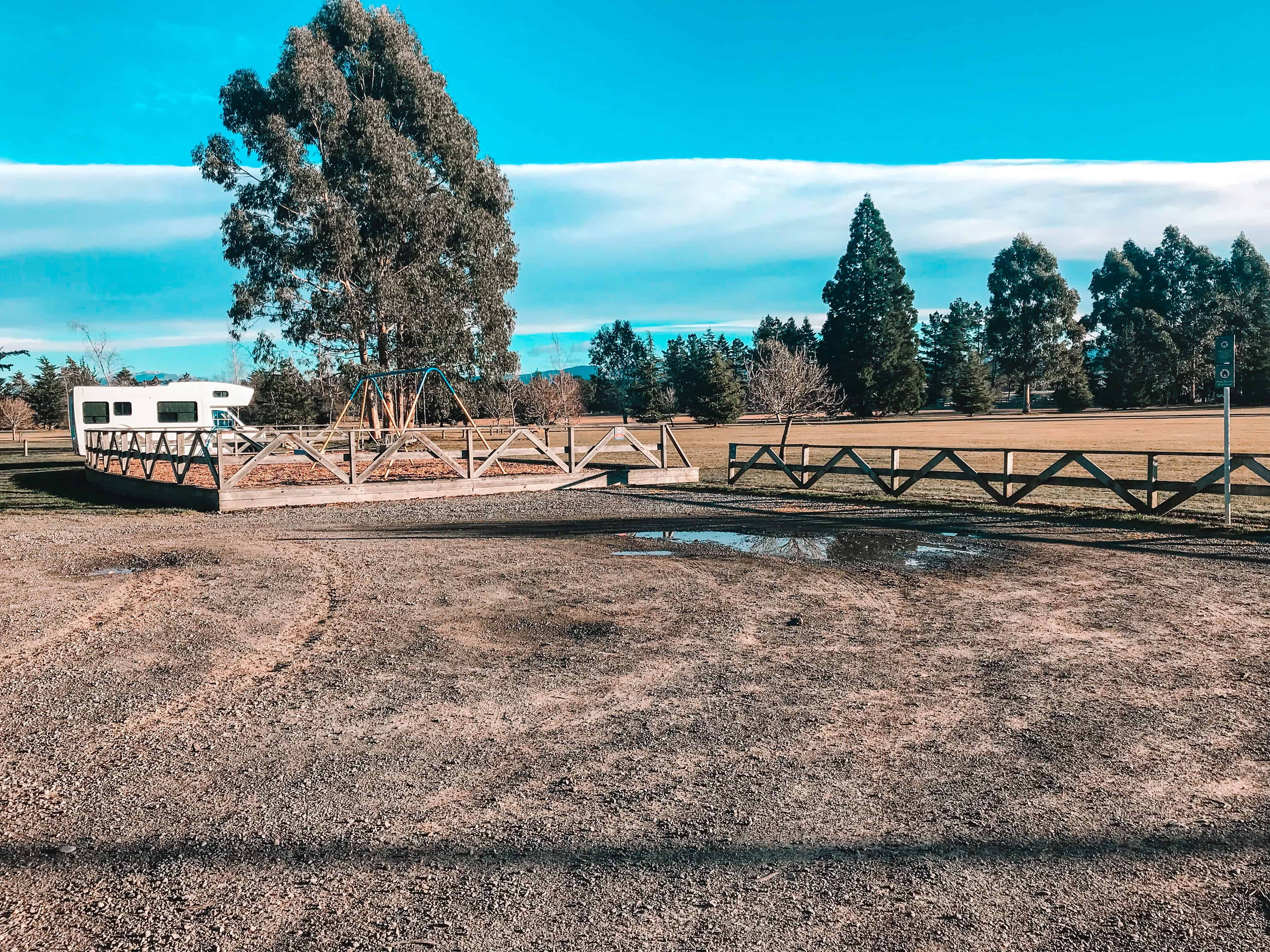 Campgrounds south island New Zealand Cust Domain