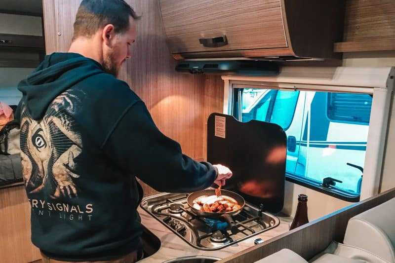 Our Simple Tips For Cooking In Campervan
