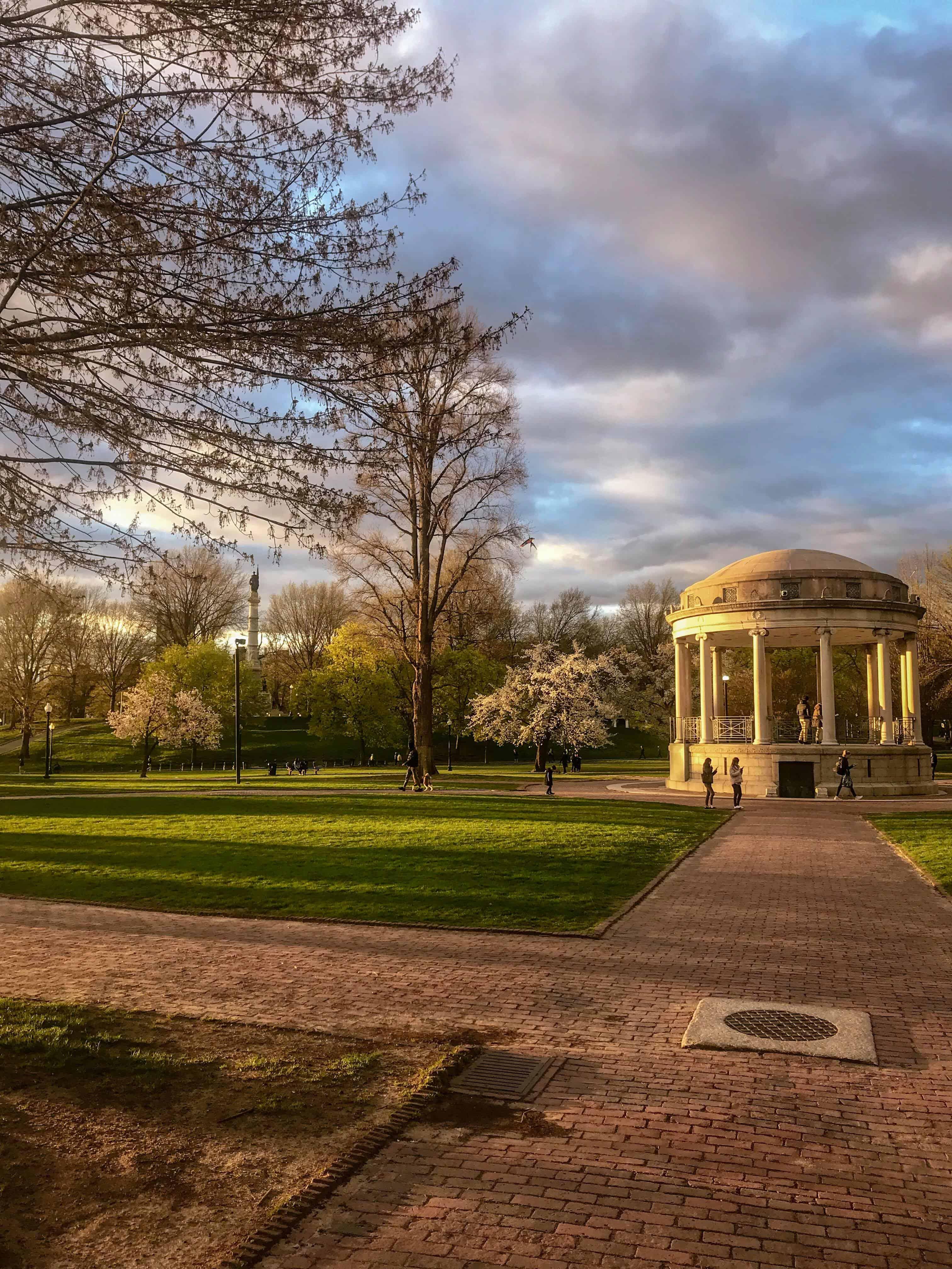 Boston Commons - Boston weekend itinerary