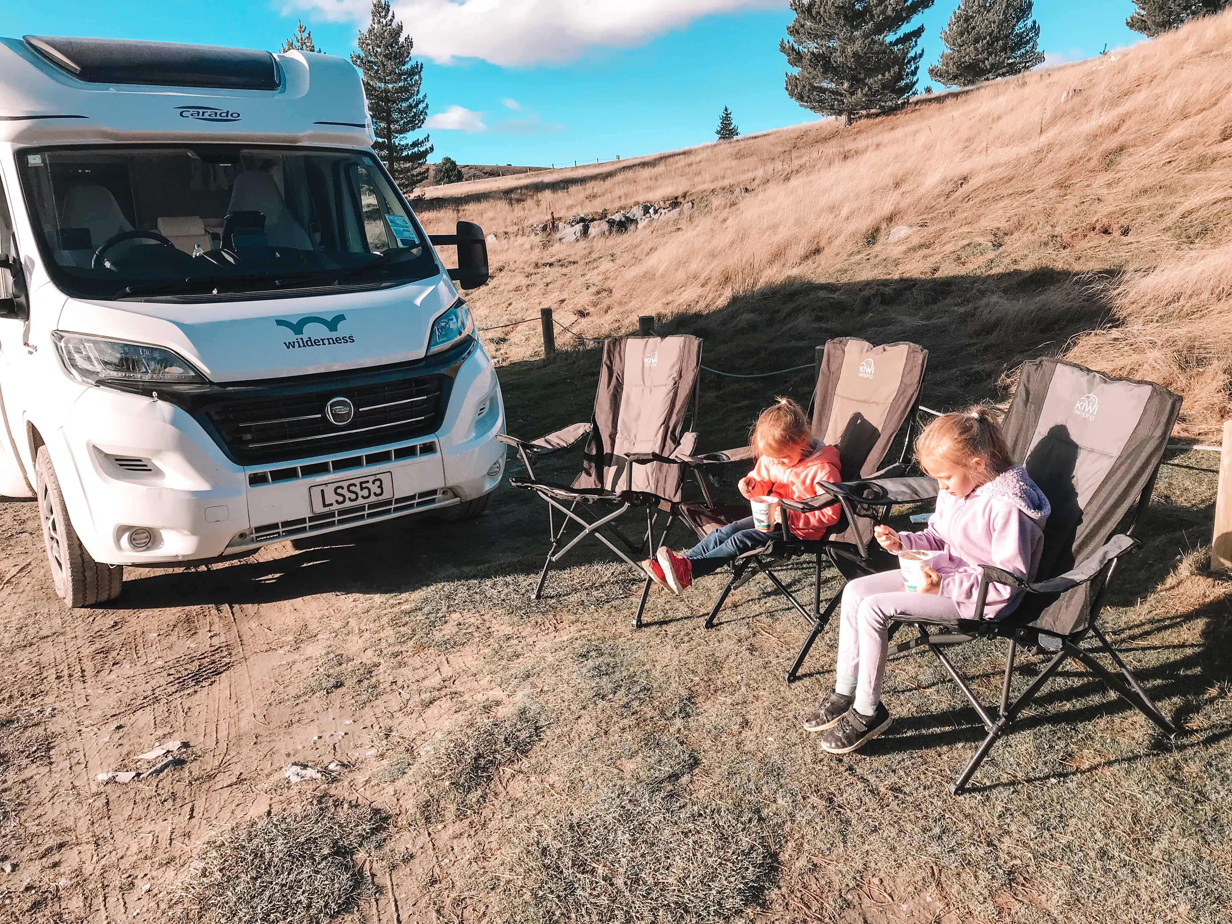 VIP package Wilderness Motorhomes
