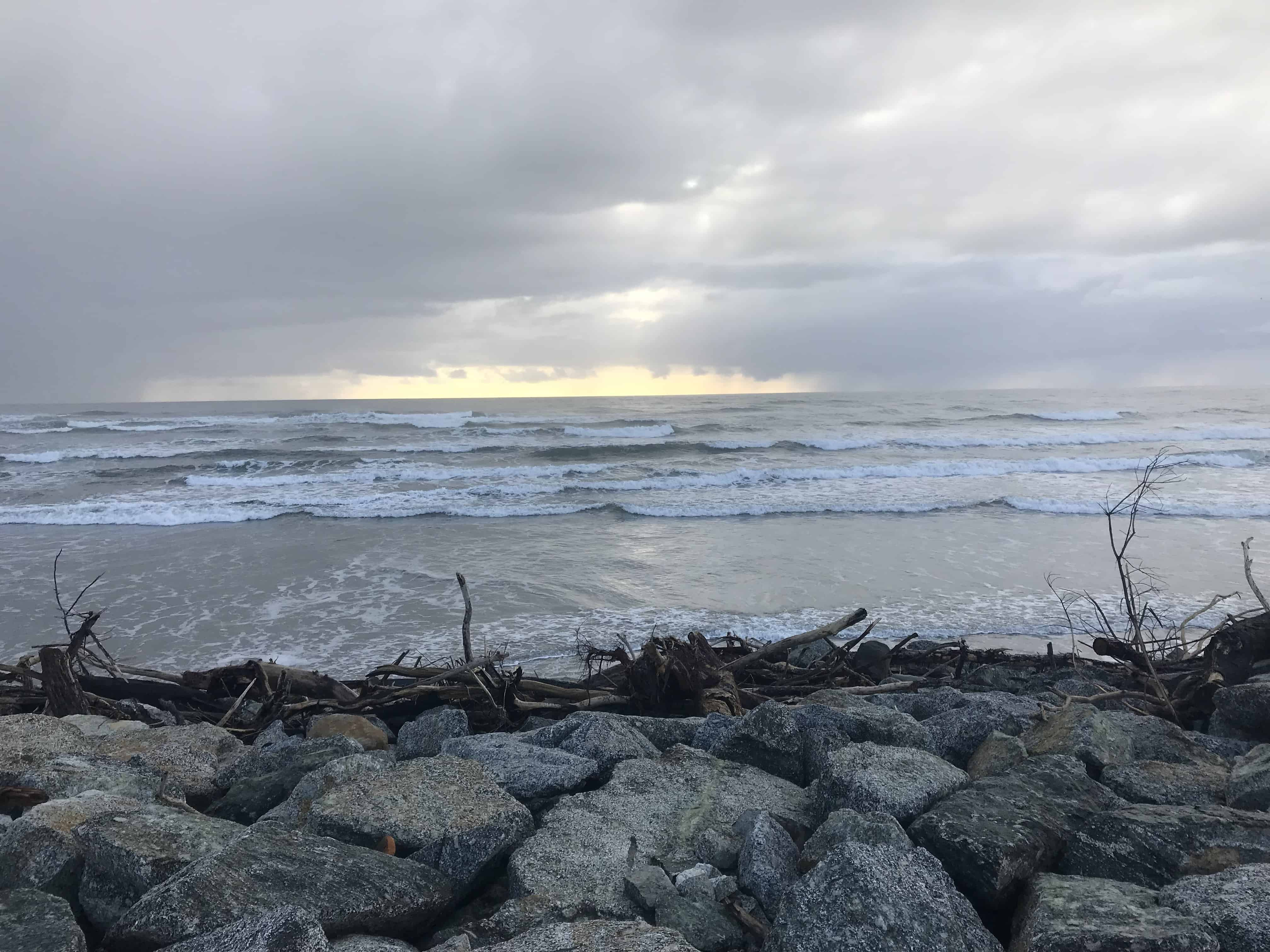 New Zealand South Island itinerary Greymouth freedom campsite