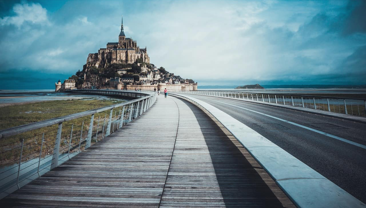 Mont Saint Michel from paris