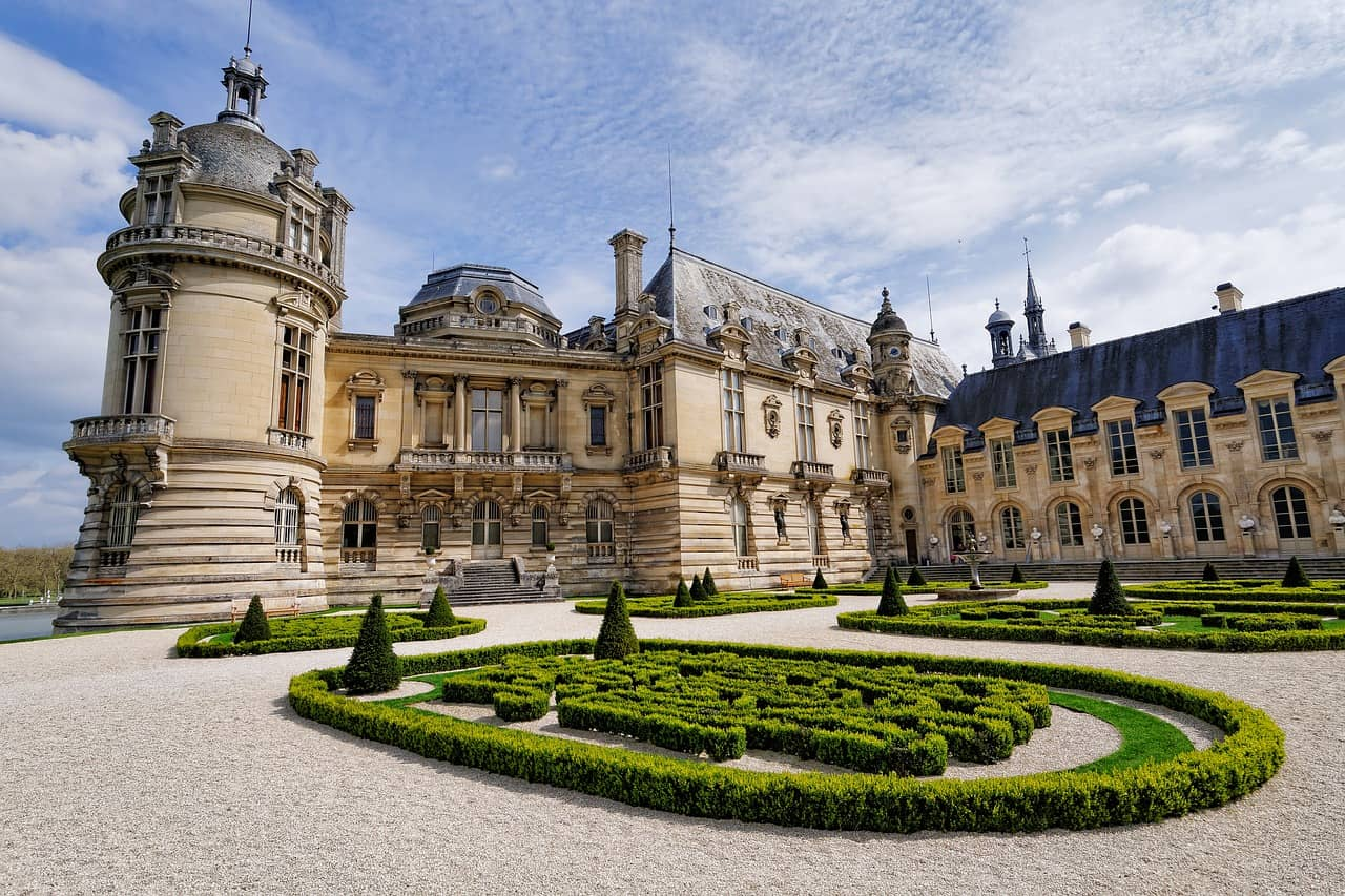 Chateau chantilly from paris day trip