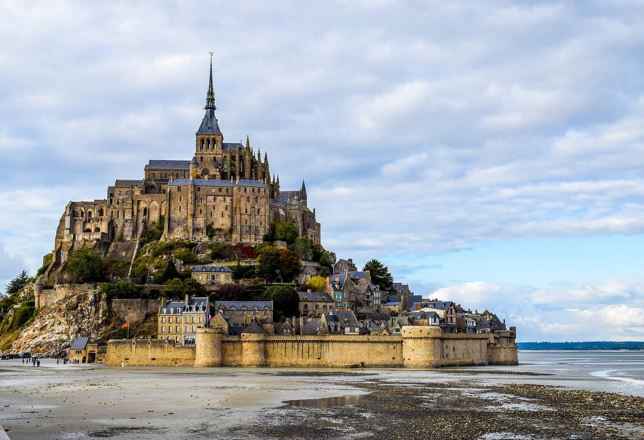 Visit to Mont Saint Michel from Paris day trip