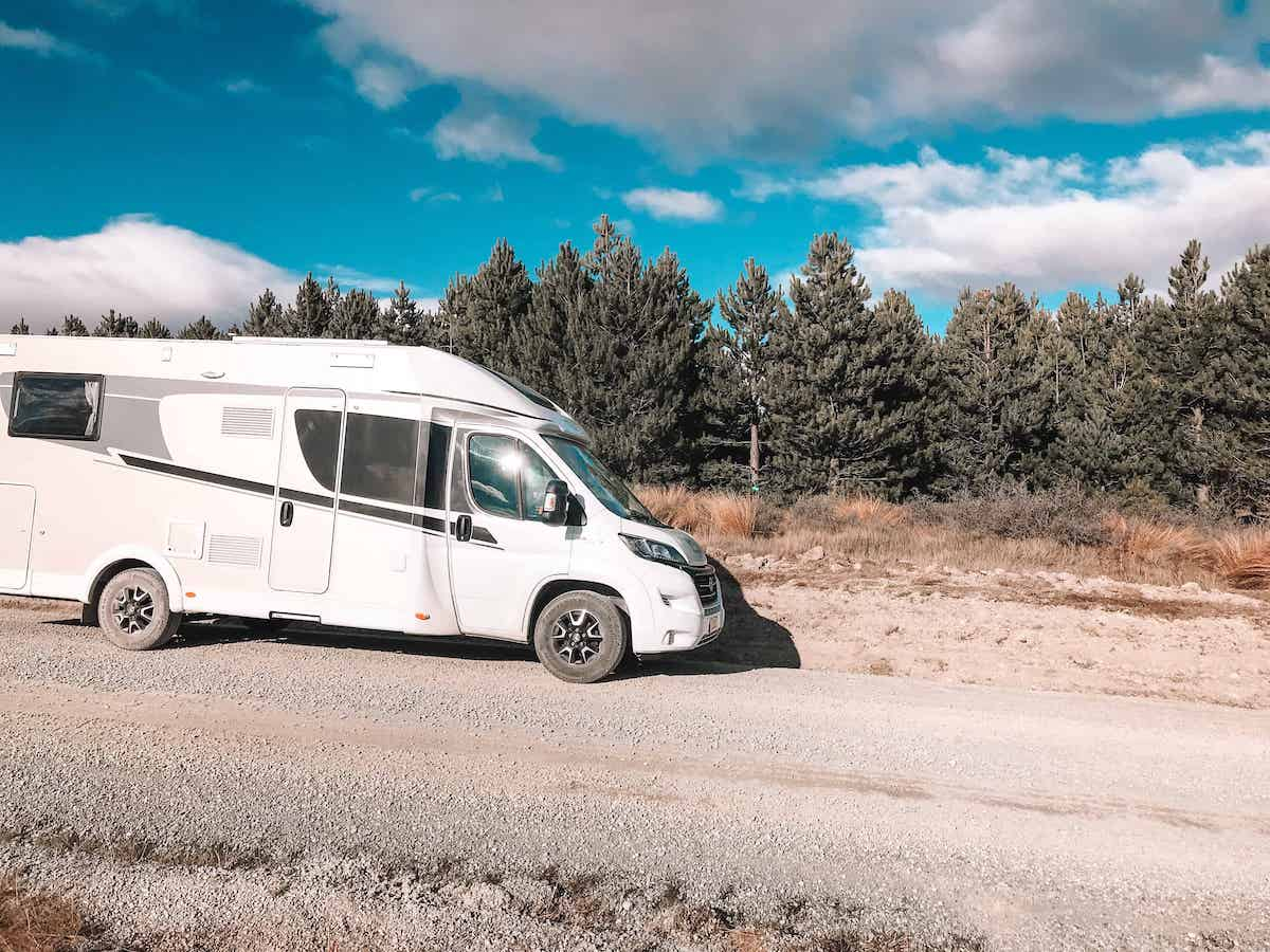 south island road trip itinerary by campervan