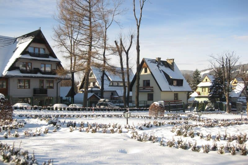 Zakopane in winter - white christmas destinations