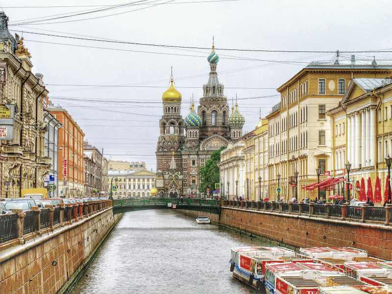 St Petersburg at Christmas time