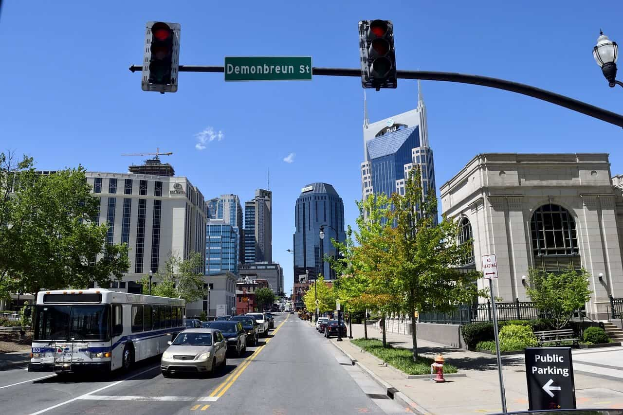 Nashville city street