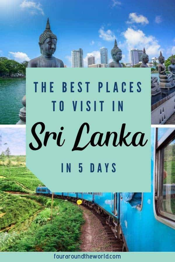 The best places to visit in Sri Lanka with family - 5 day sri lanka itinerary