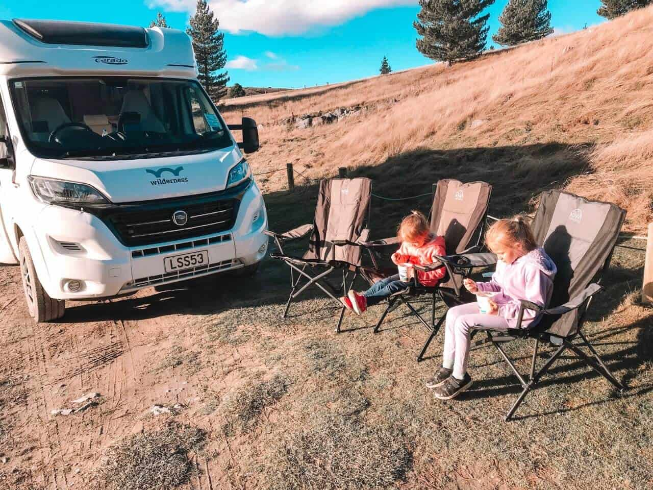South island campsites