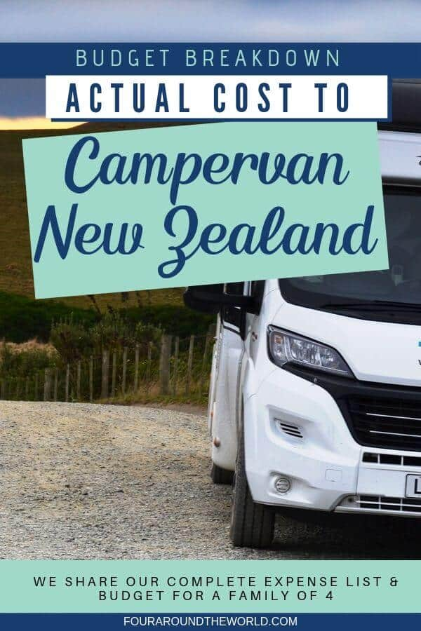 How much does it really cost to travel New Zealand by campervan