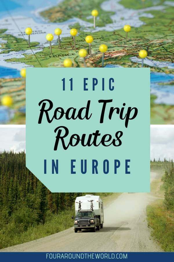 The most epic road trips in Europe - road trip itineraries around Europe with kids that you won't want to miss
