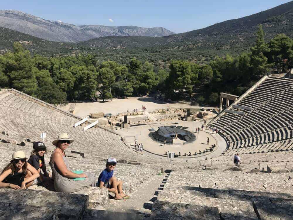 Epidavros Greece road trip