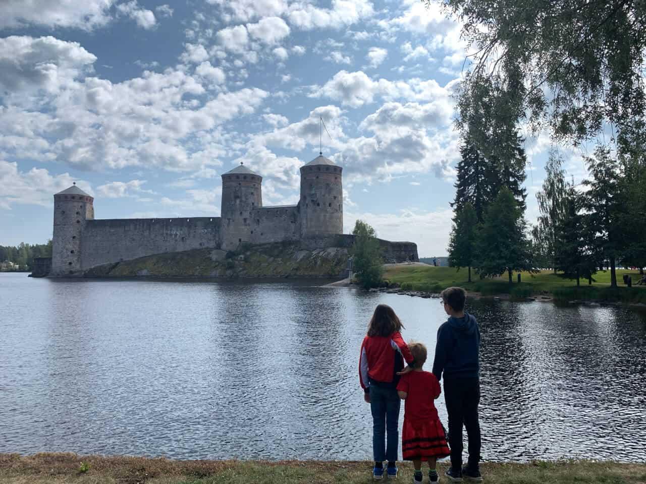 Road trips in Europe - Finland castle