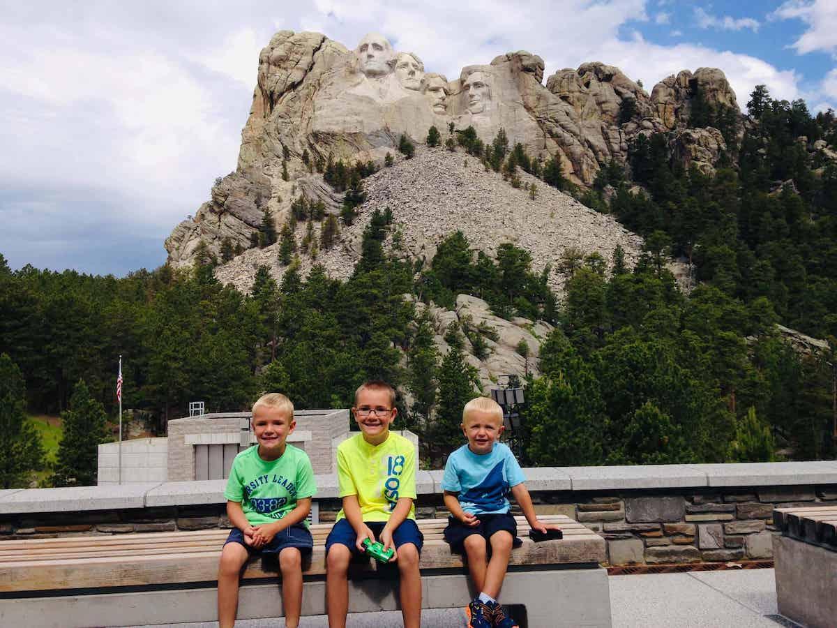Black hills road trip with kids