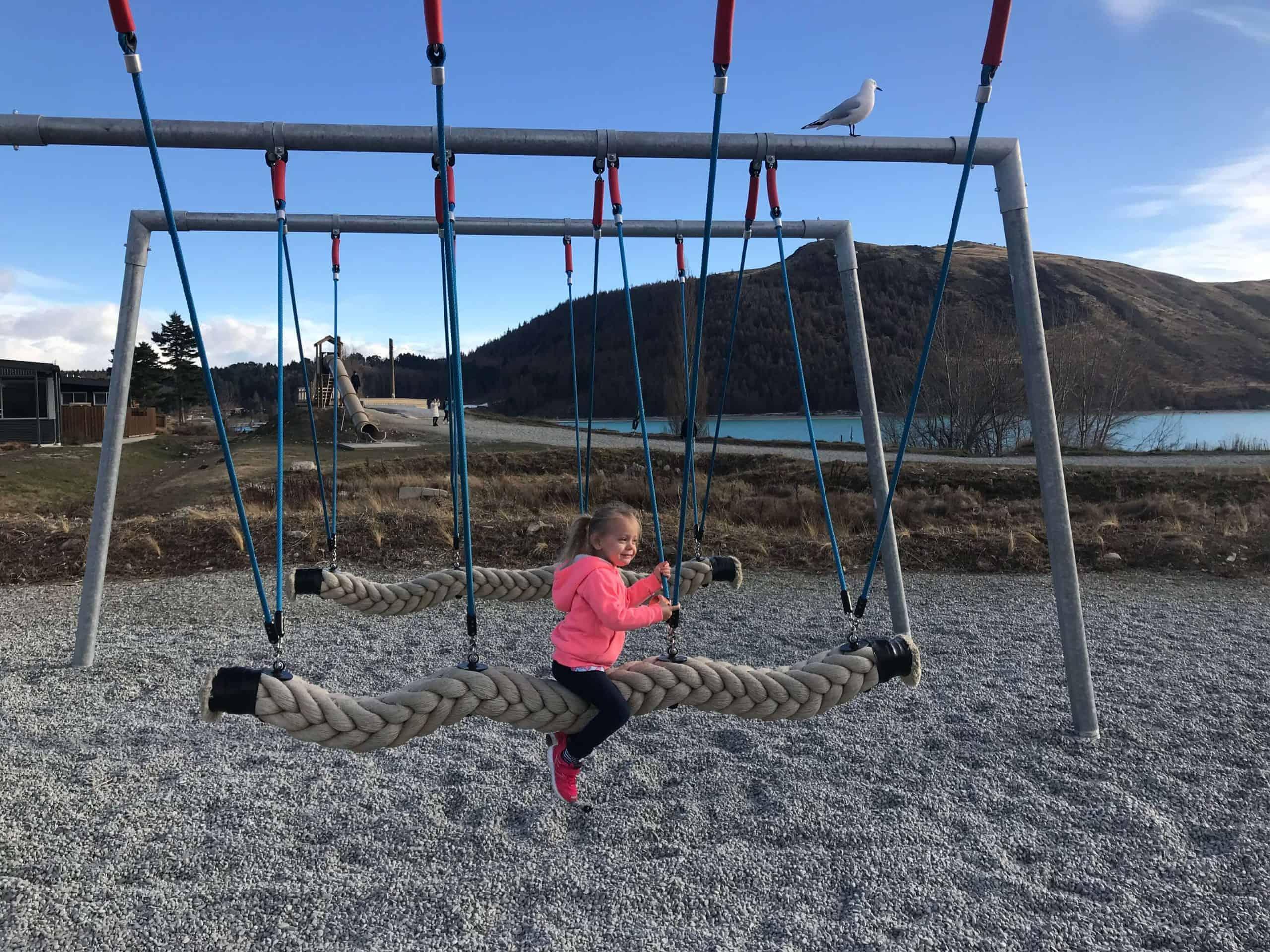 Lakeside playground tekapo