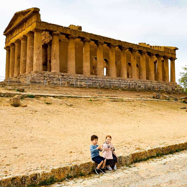 Sicily road trip with kids