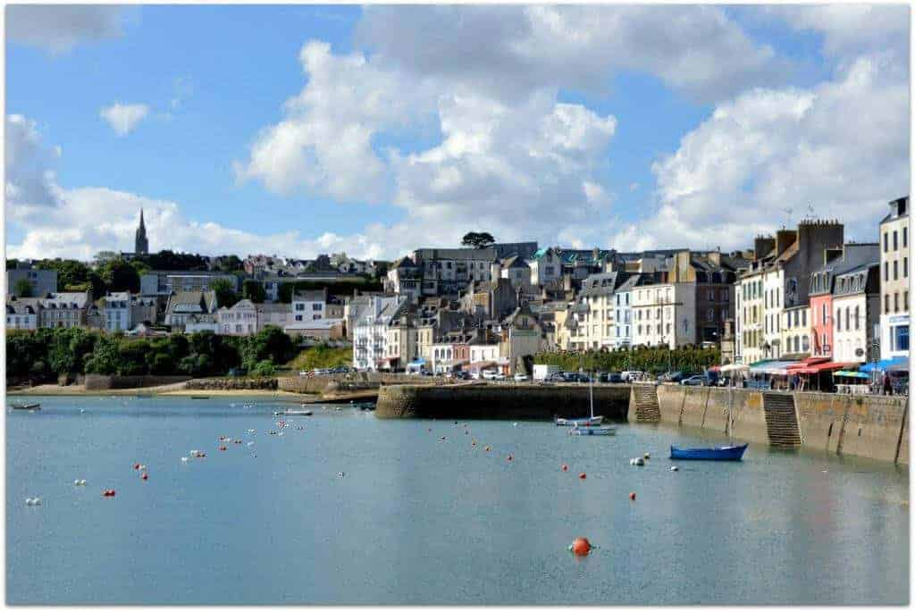Bretagne in France water front