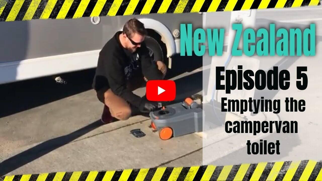 Changing campervan toilet youtube