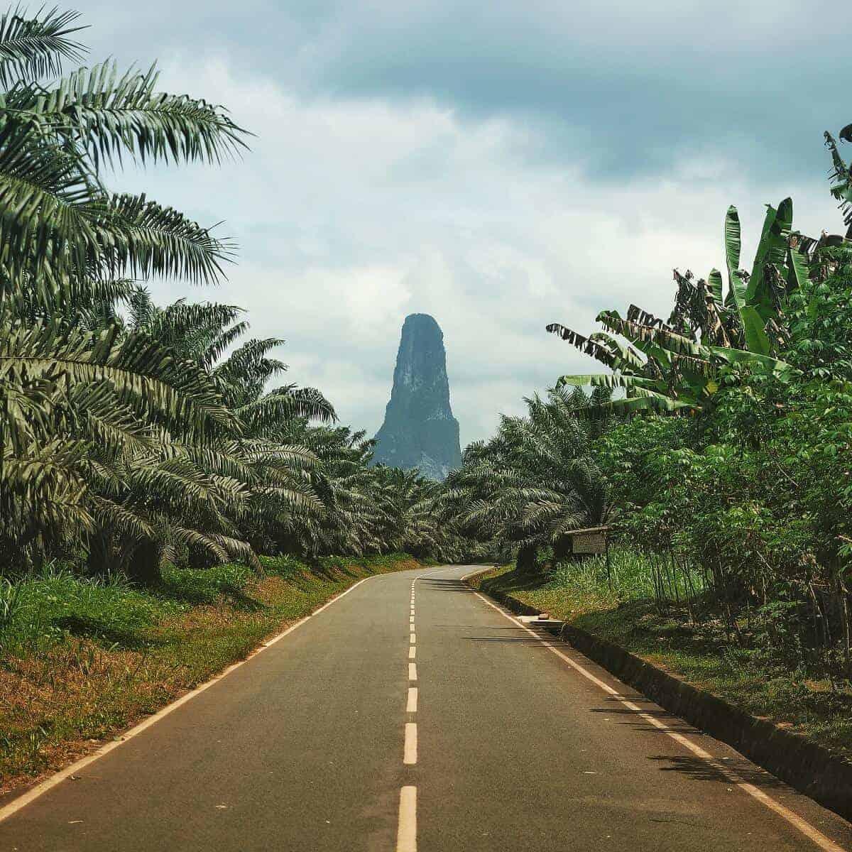 Sao Tome mountain