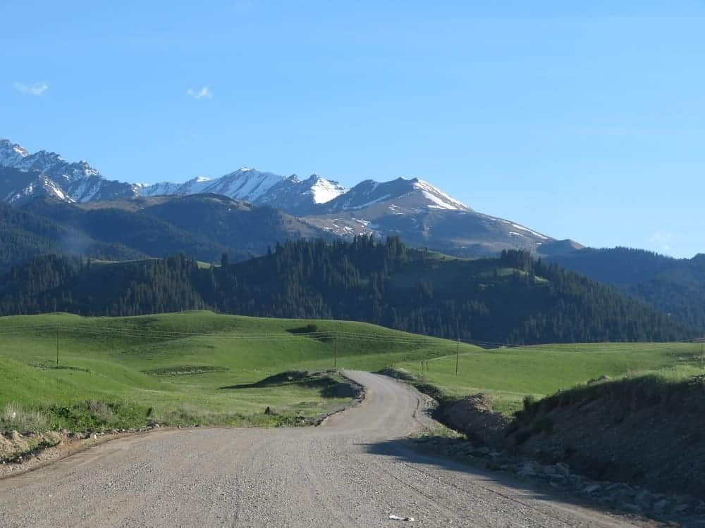 Route: Almaty, Kazakhstan, Charyn Canyon, Kolsai lakes.