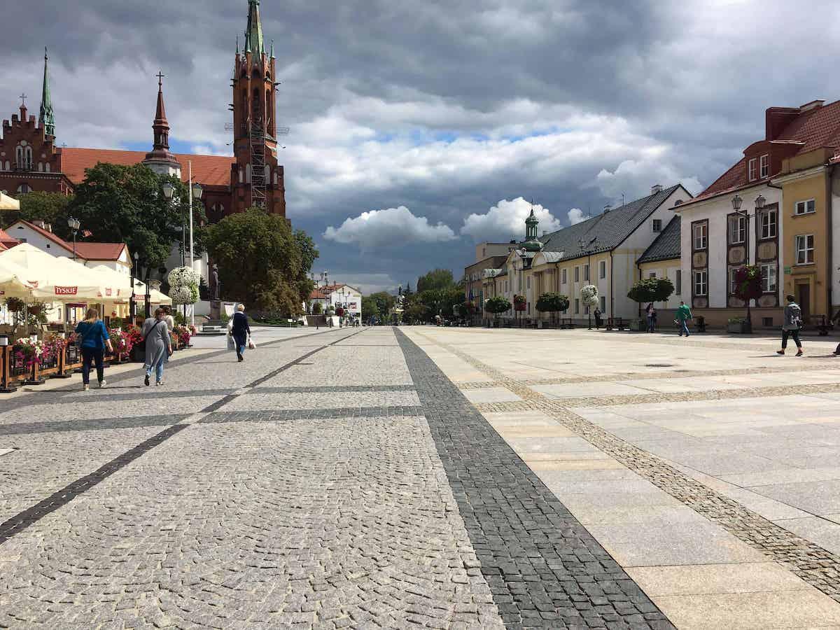 bialystok town square poland