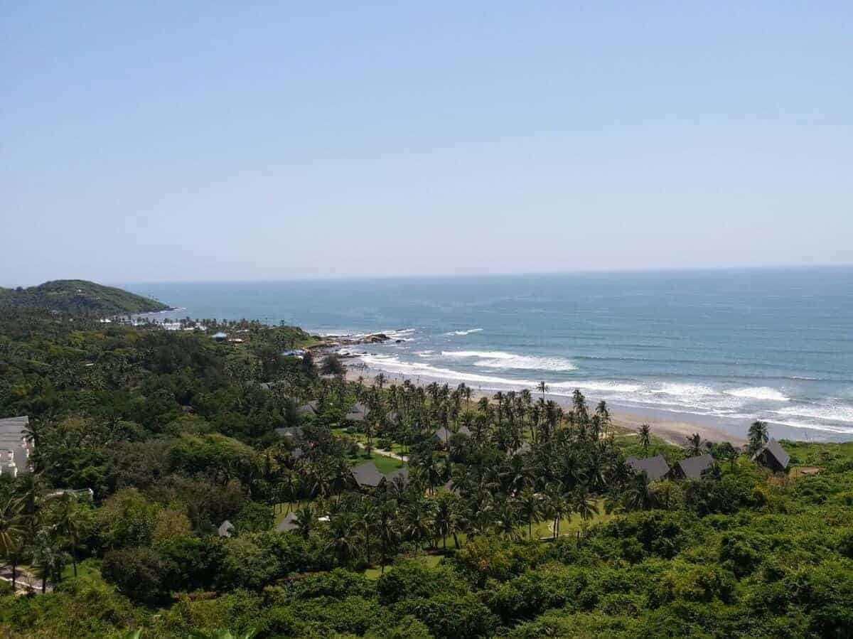 Goa coastline - best road trips in Asia