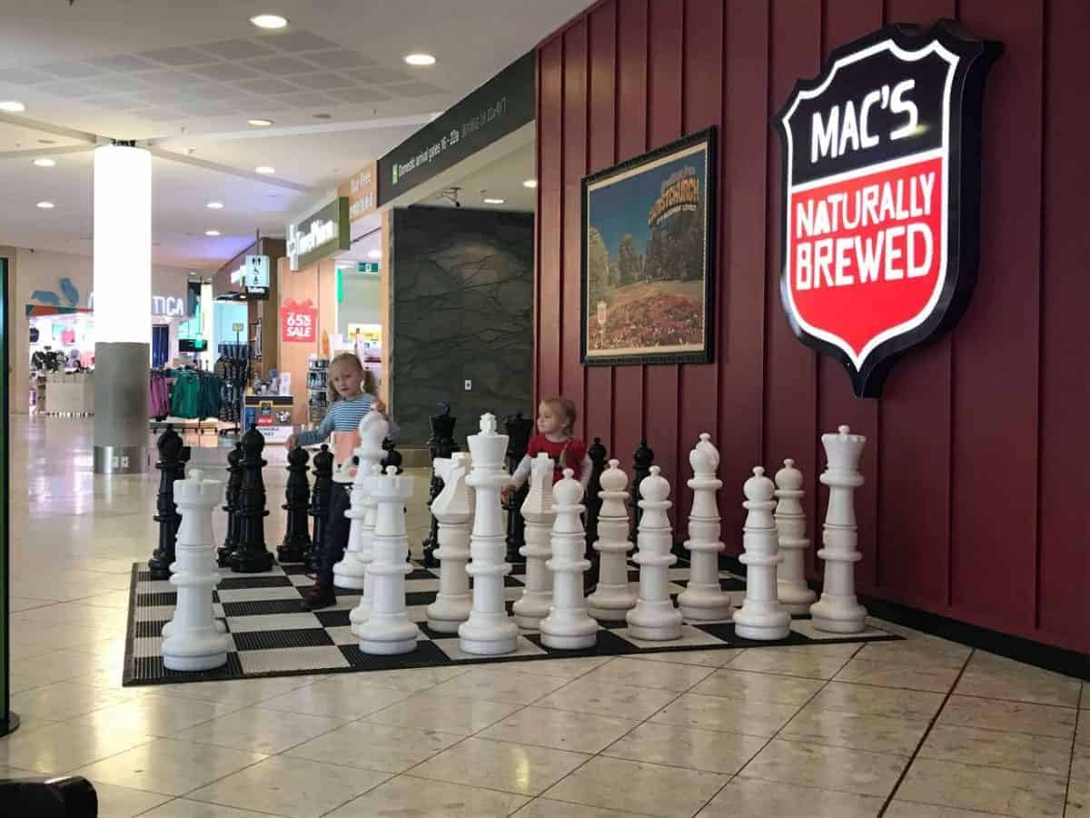 Christchurch international airport chess