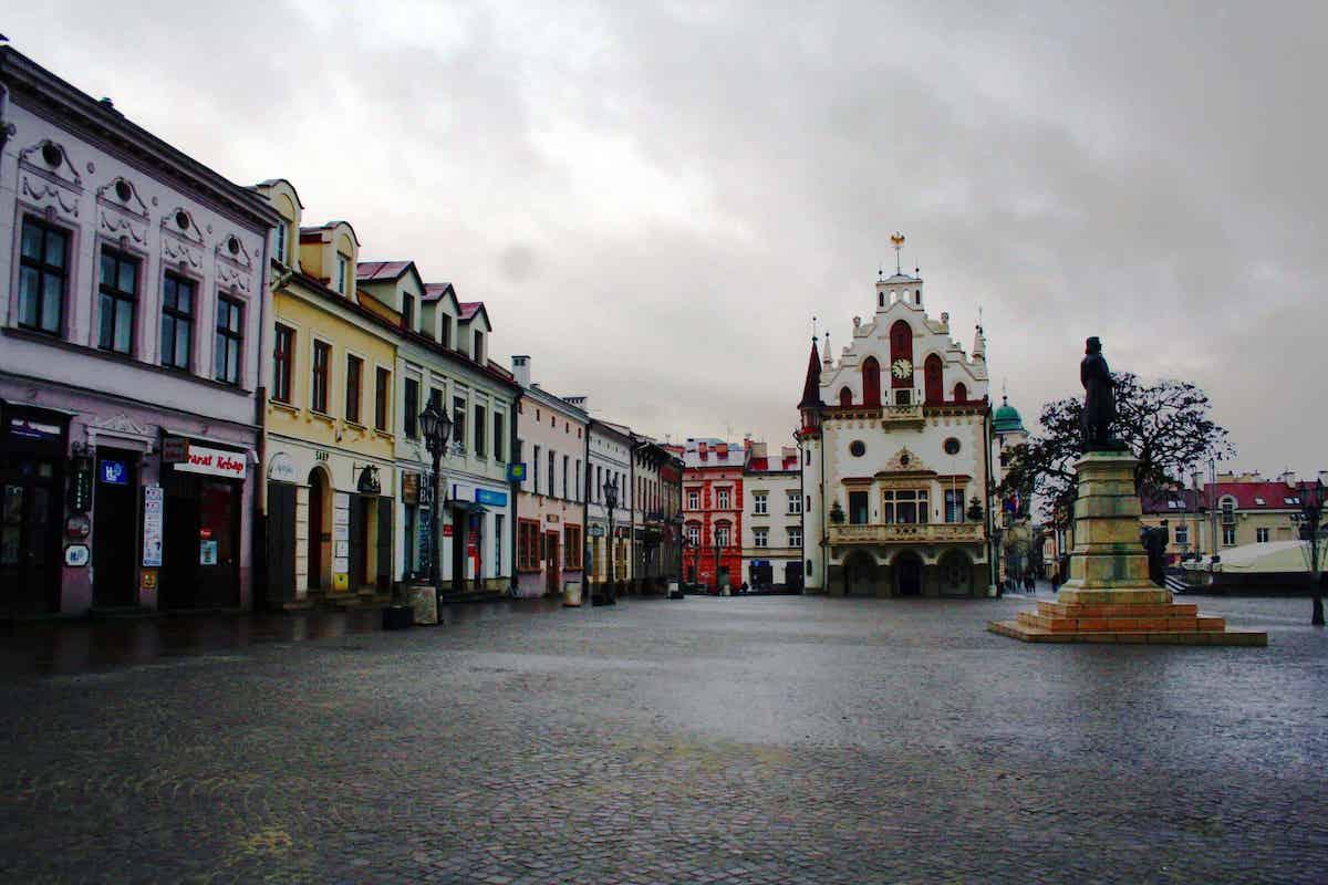 Rzeszow poland town square