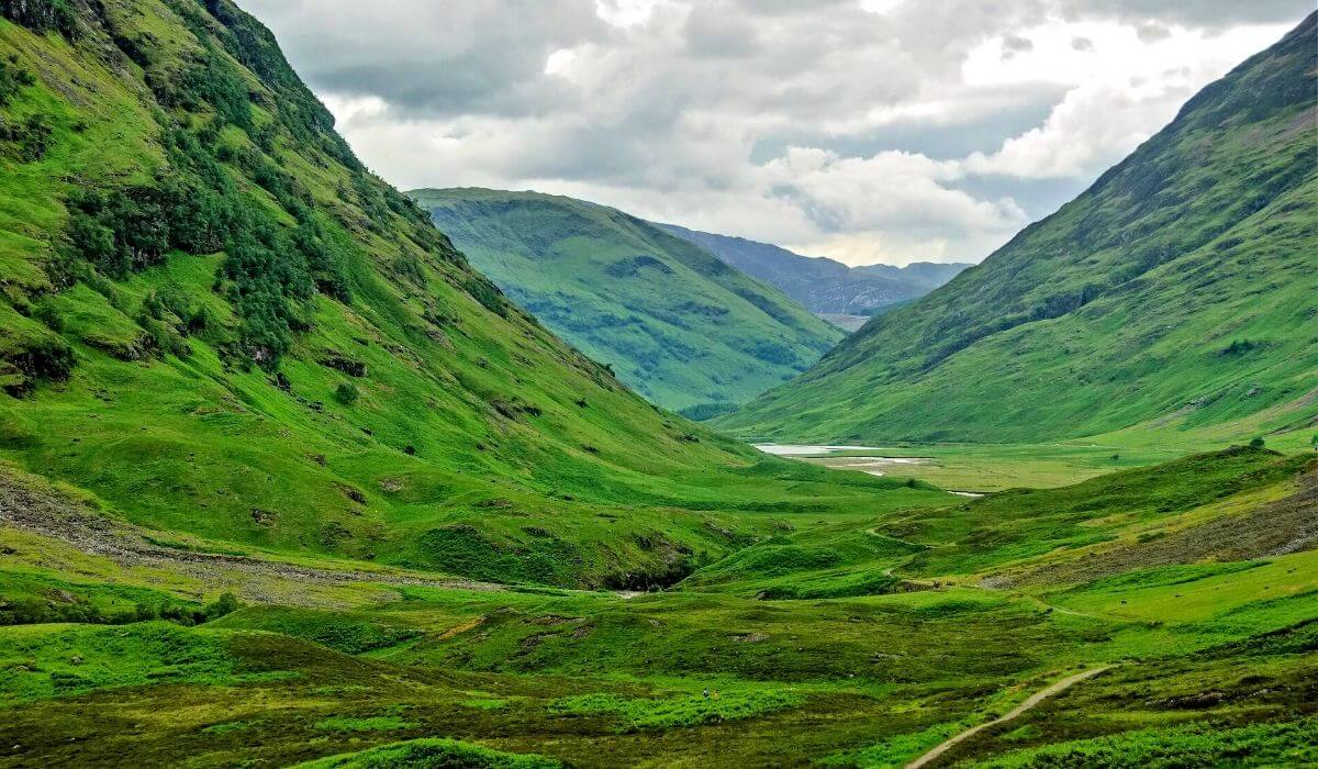 Scottish highlands road trips in Europe