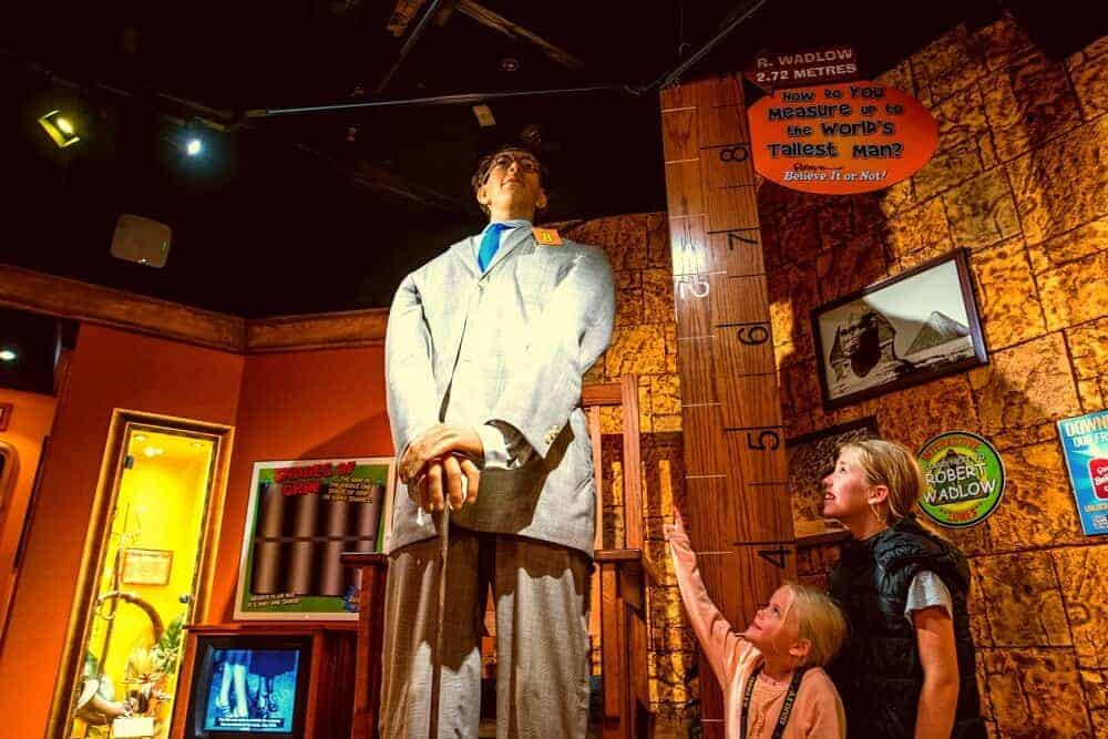 Ripley's Believe it or not gold coast attraction