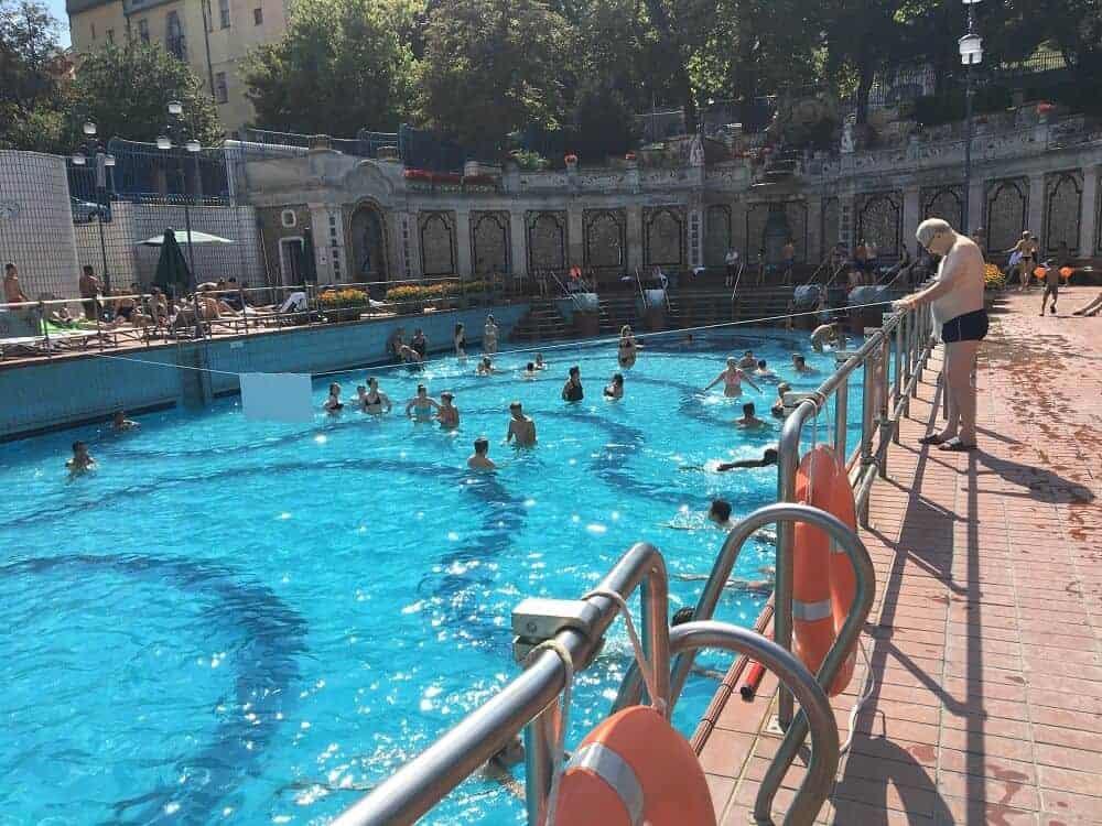Gellert baths wave pool