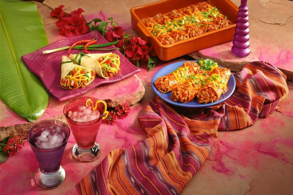 Mexican food theme night