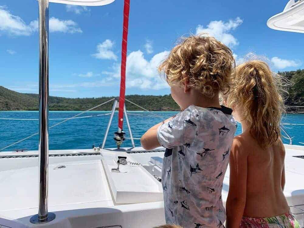 Airlie beach sailing