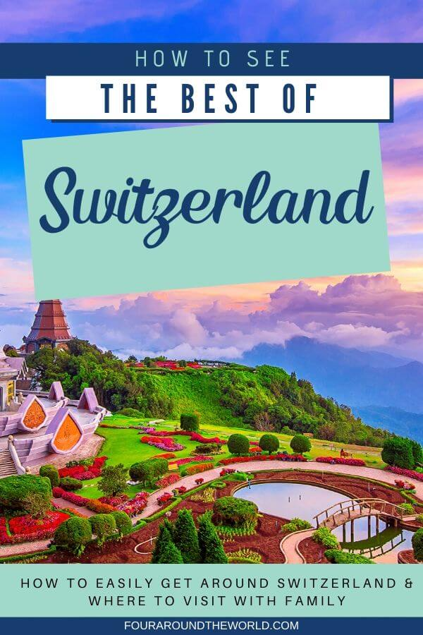 Things to do in Switzerland with kids - how to get around Switzerland with family