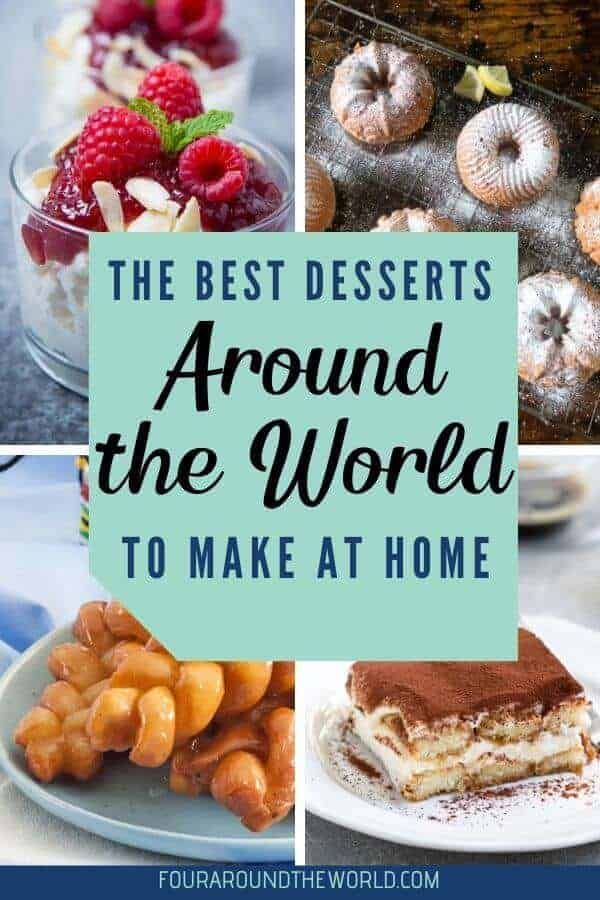 The best desserts of the world recipes to make at home