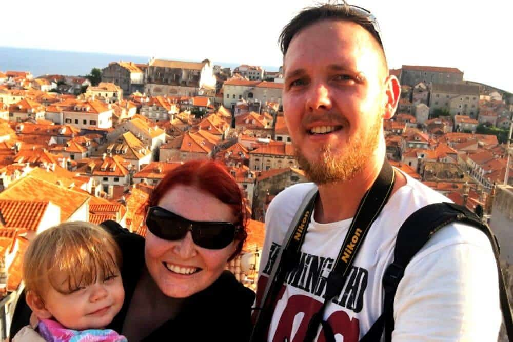 Dubrovnik with a toddler