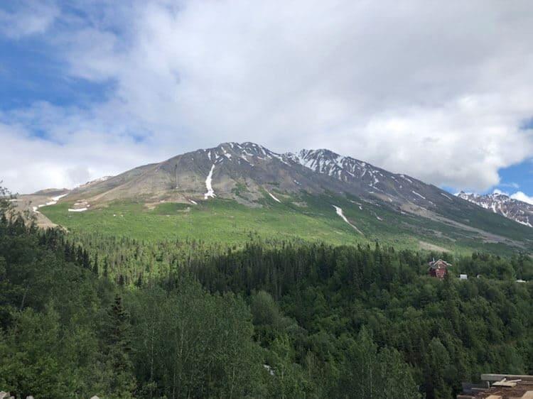 hiking view seward