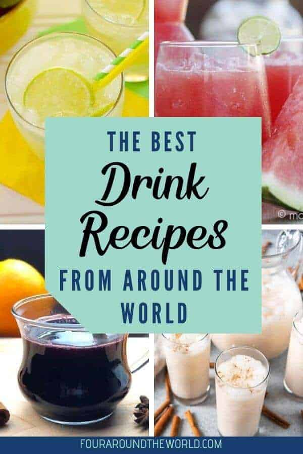 The best international drink recipes from around the world