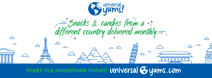 Universal yums monthly snack box