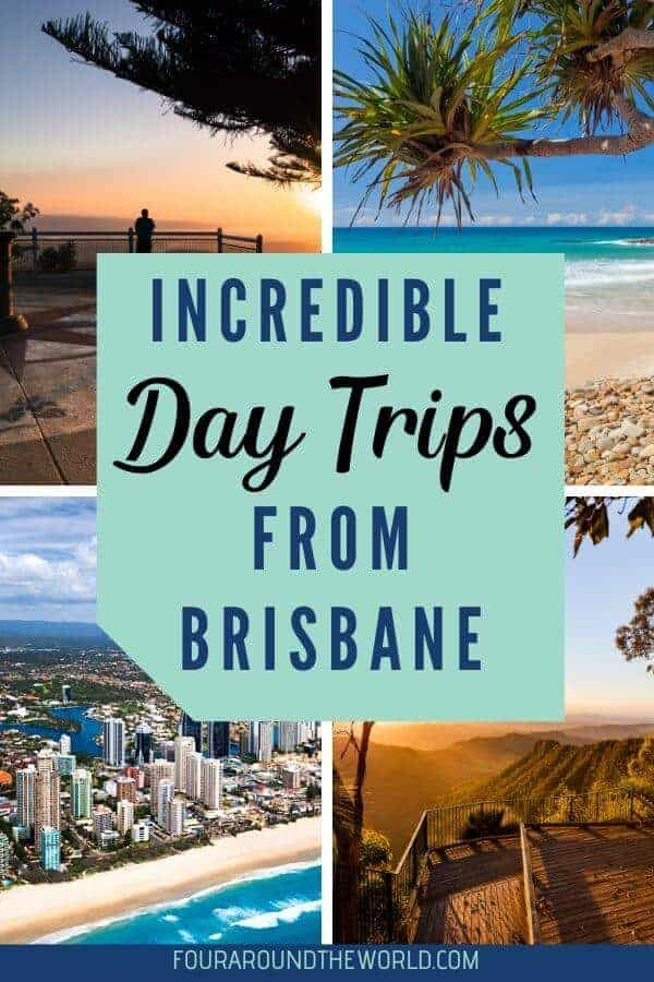 The best day trips from Brisbane Queensland