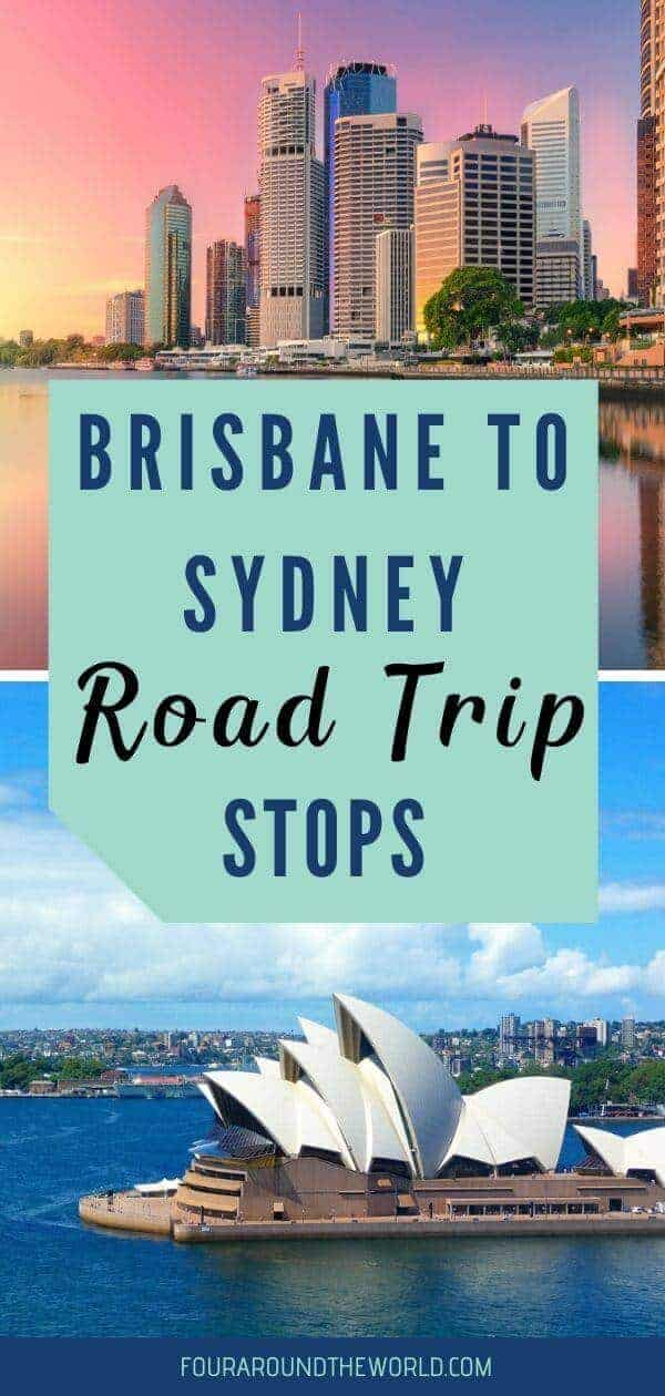 BRisbane to Sydney road trip