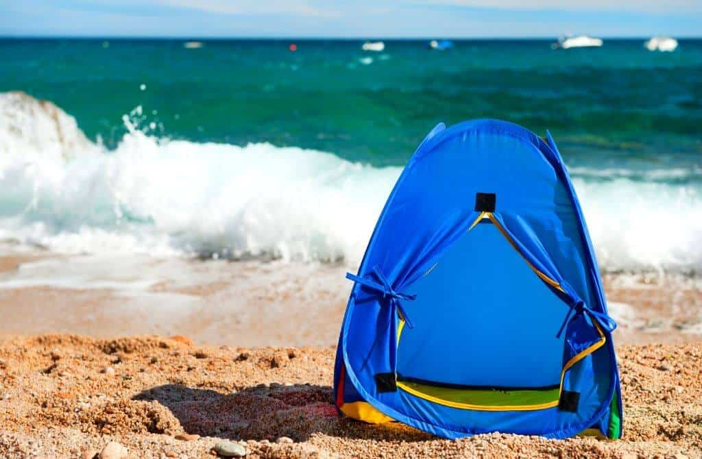Kids sun shelter camping essentials