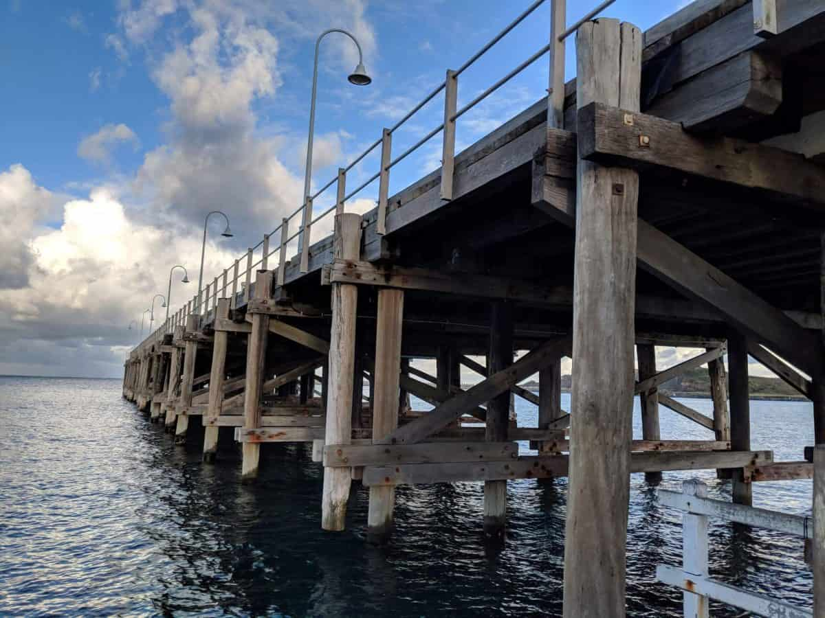 Historical jetty in Coffs Harbour