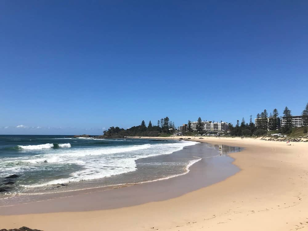 Beaches at Port Macquarie