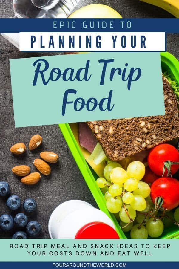 Road trip food list & meal planning