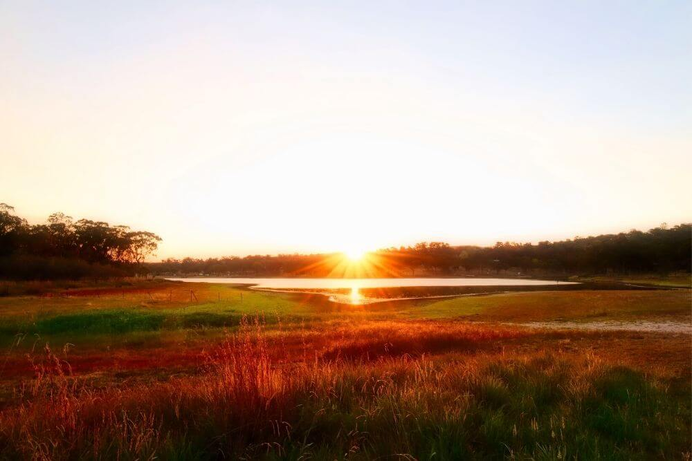 Stanthorpe sunset
