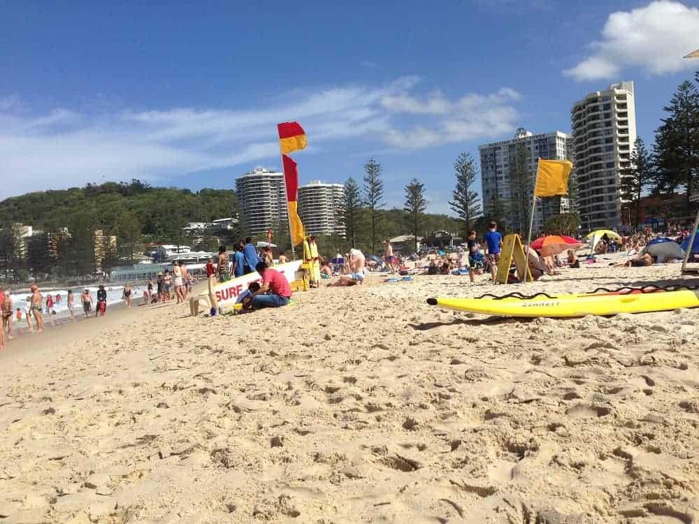 Gold Coast Day Trip to beach