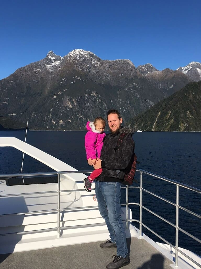Milford sound cruise with kids