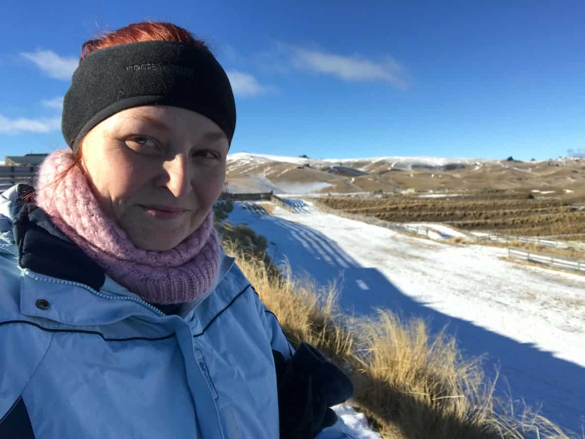 New zealand winter packing list in snow at snow farm